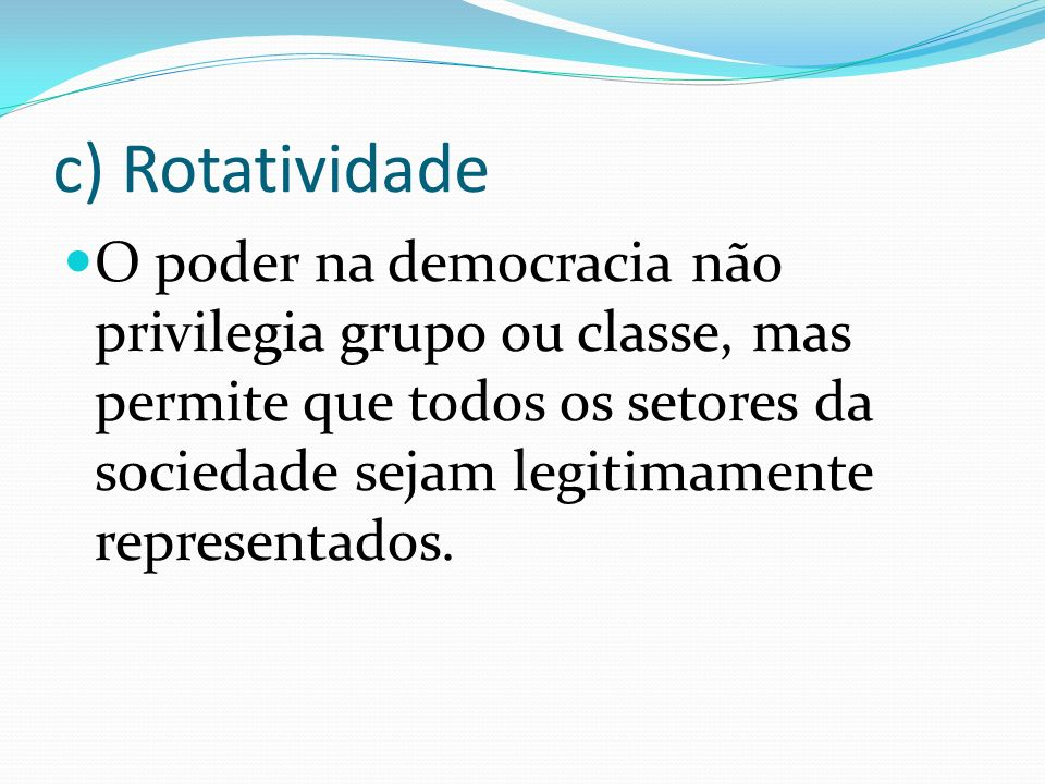 c) Rotatividade