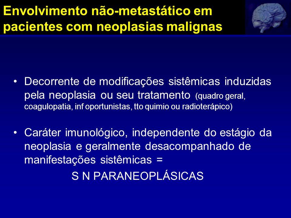 Envolvimento não-metastático em pacientes com neoplasias malignas