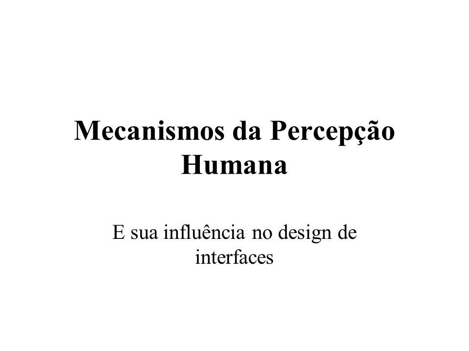 Mecanismos da Percepção Humana