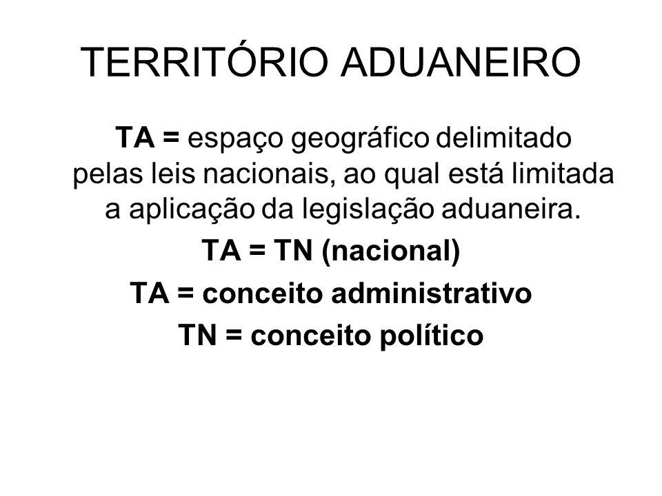 TA = conceito administrativo