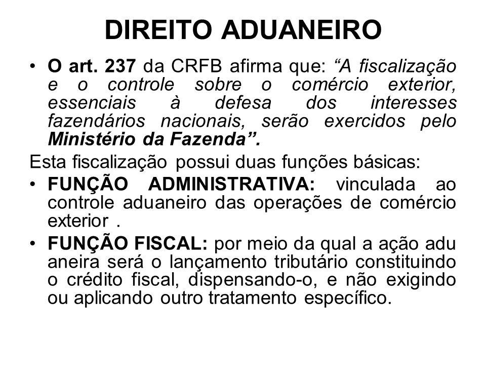 DIREITO ADUANEIRO