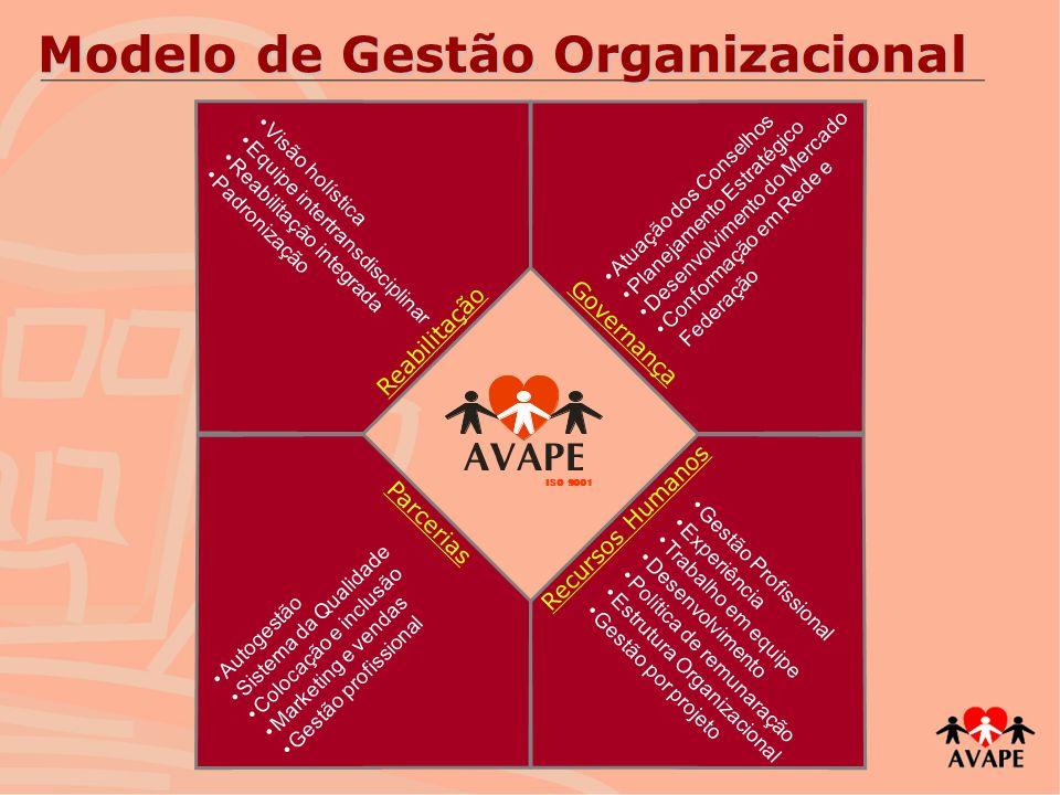 Modelo de Gestão Organizacional