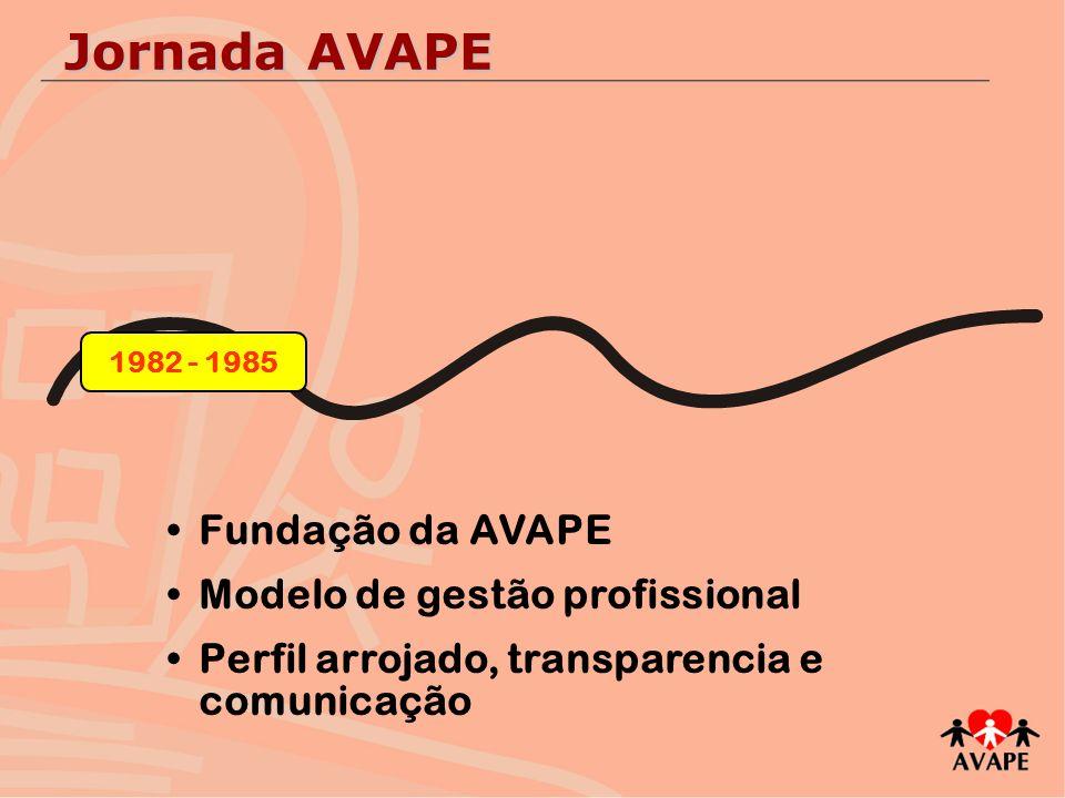 Jornada AVAPE Fundação da AVAPE Modelo de gestão profissional