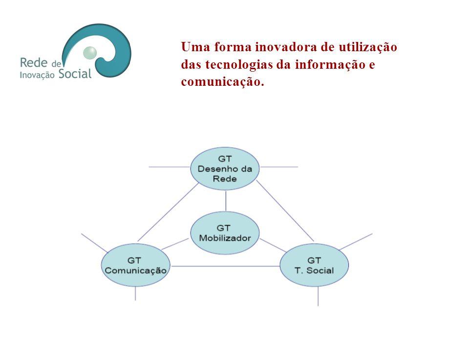 Uma forma inovadora de utilização das tecnologias da informação e comunicação.