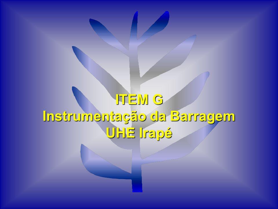 Instrumentação da Barragem UHE Irapé