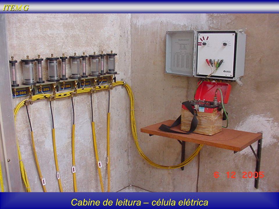 Cabine de leitura – célula elétrica