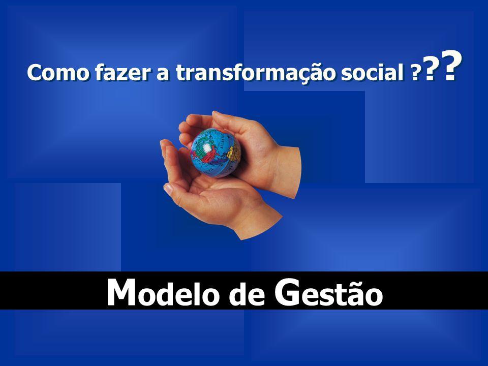 Como fazer a transformação social