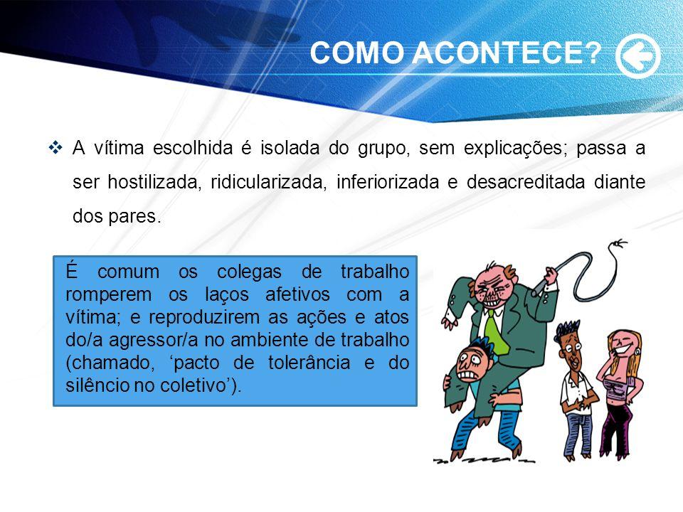 COMO ACONTECE