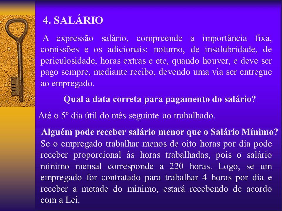 4. SALÁRIO