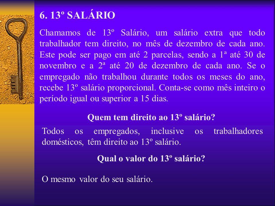 Quem tem direito ao 13º salário Qual o valor do 13º salário
