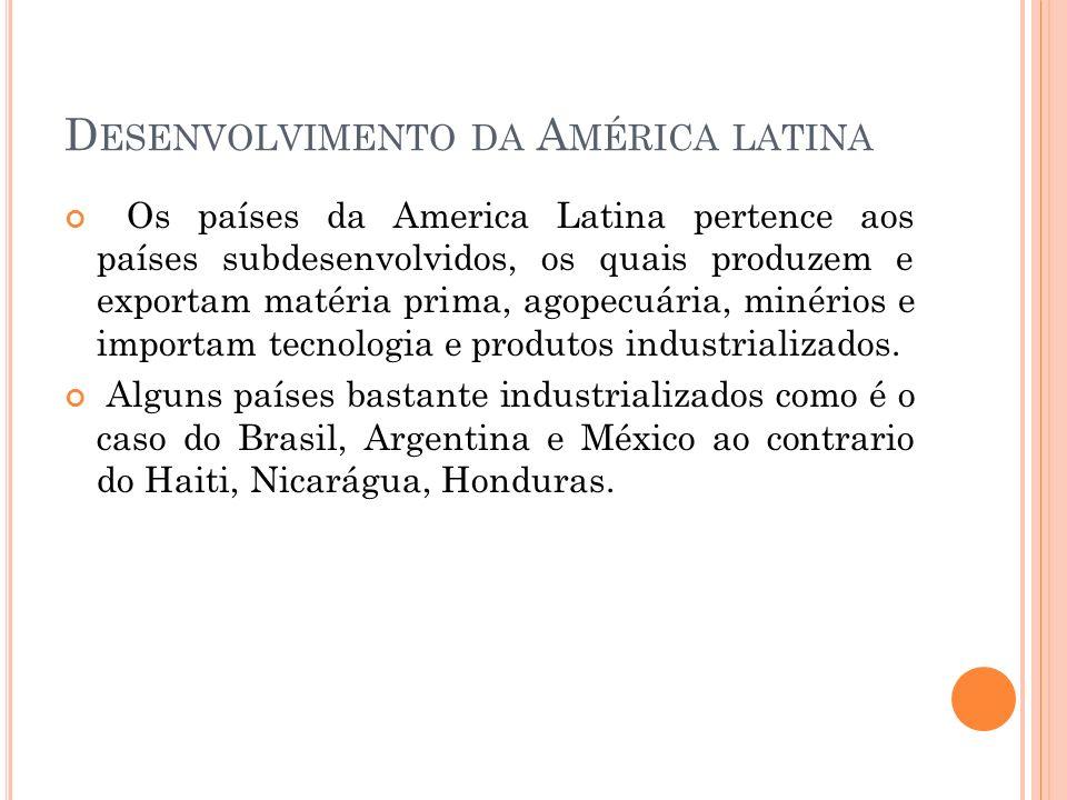 Desenvolvimento da América latina
