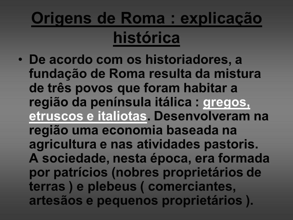 Origens de Roma : explicação histórica