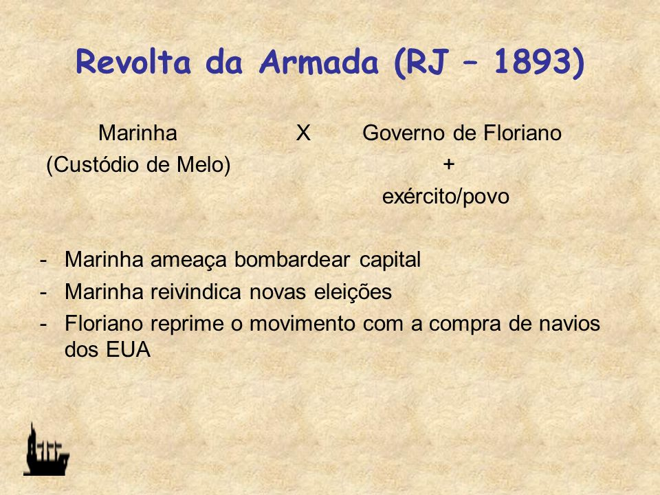 Revolta da Armada (RJ – 1893)