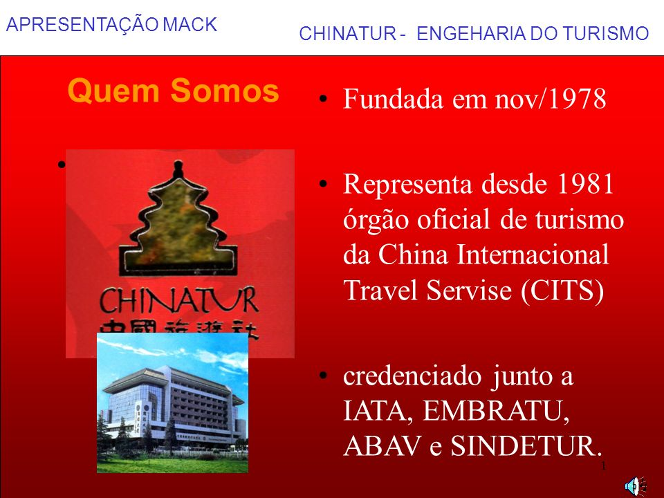 CHINATUR - ENGEHARIA DO TURISMO
