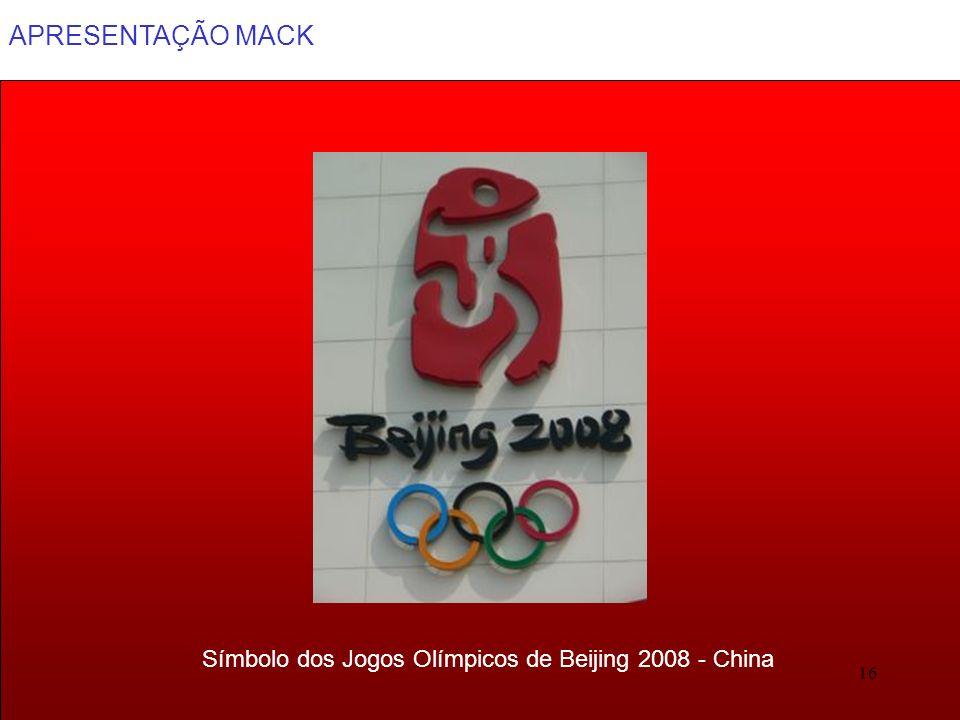 Símbolo dos Jogos Olímpicos de Beijing 2008 - China