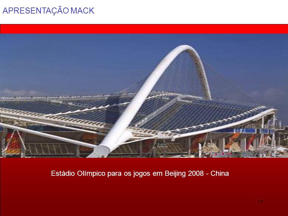 Estádio Olímpico para os jogos em Beijing 2008 - China