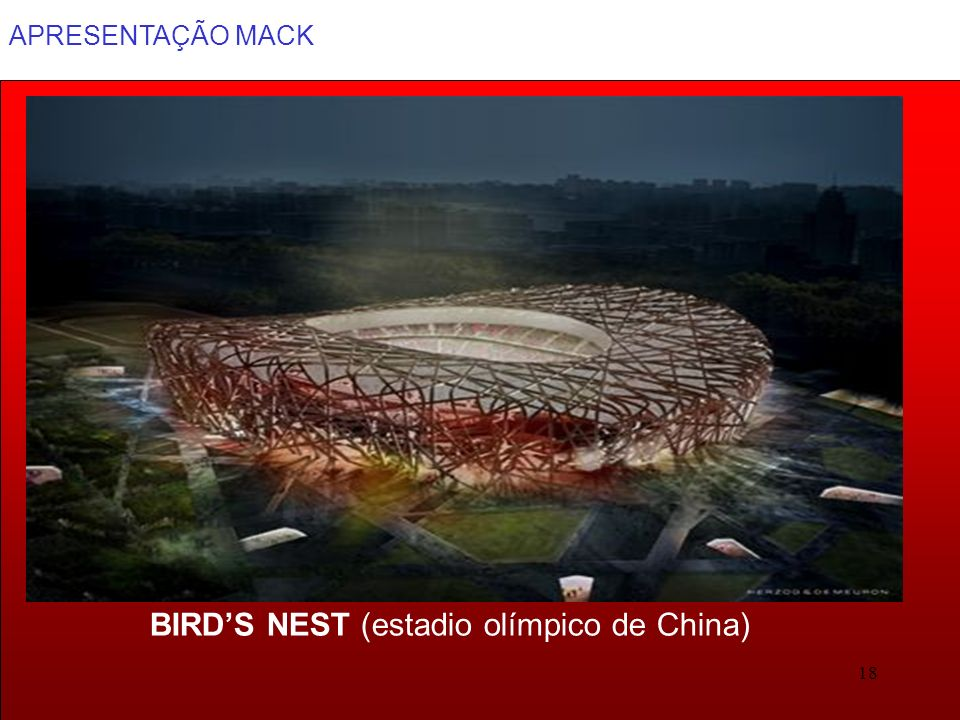 BIRD'S NEST (estadio olímpico de China)
