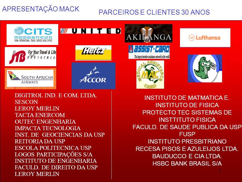 PARCEIROS E CLIENTES 30 ANOS