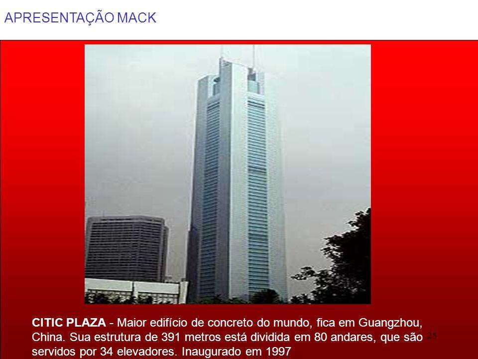 CITIC PLAZA - Maior edifício de concreto do mundo, fica em Guangzhou,