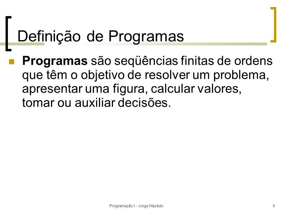 Definição de Programas