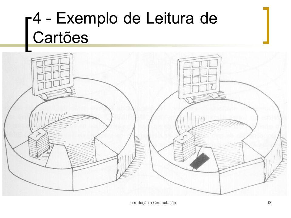 4 - Exemplo de Leitura de Cartões