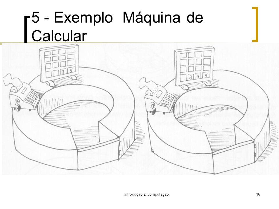 5 - Exemplo Máquina de Calcular