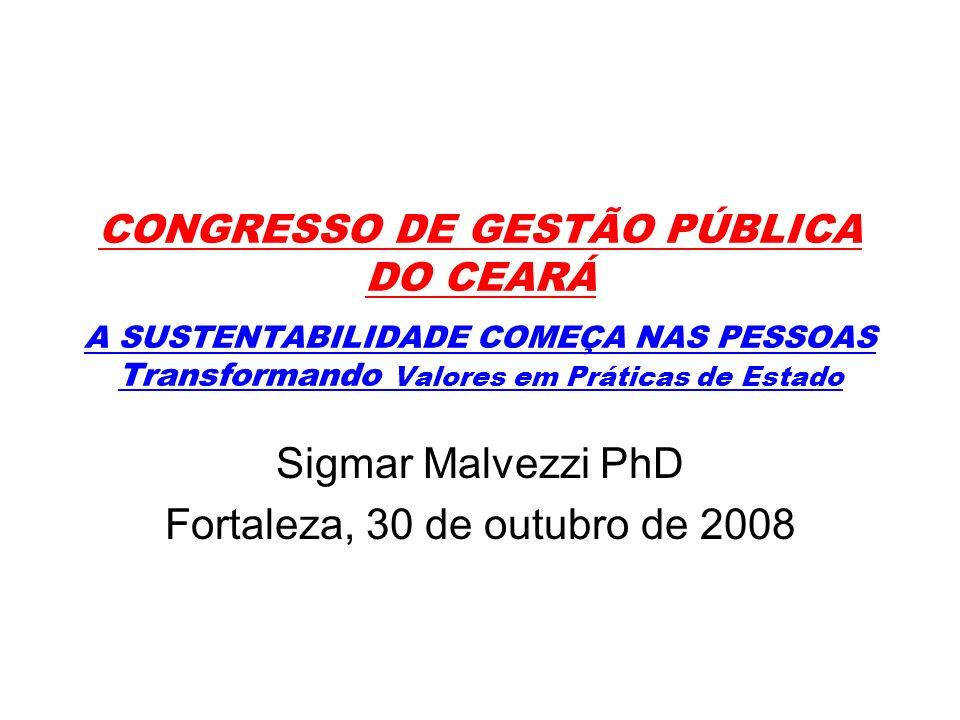 Sigmar Malvezzi PhD Fortaleza, 30 de outubro de 2008
