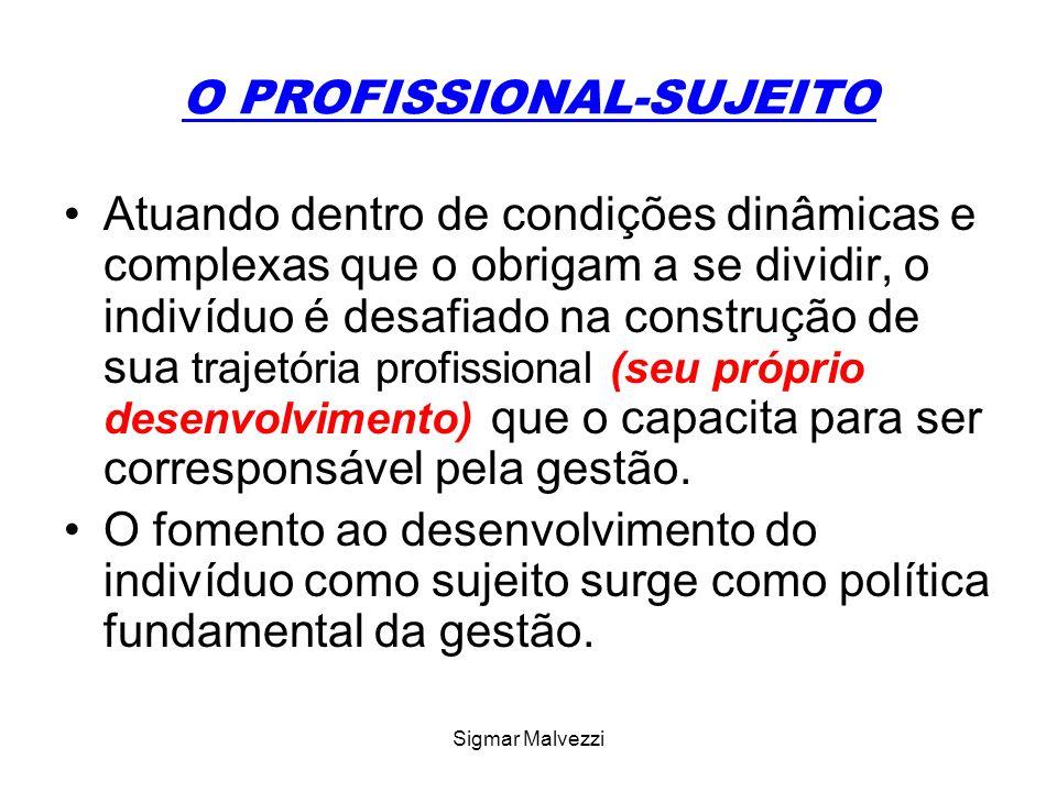 O PROFISSIONAL-SUJEITO