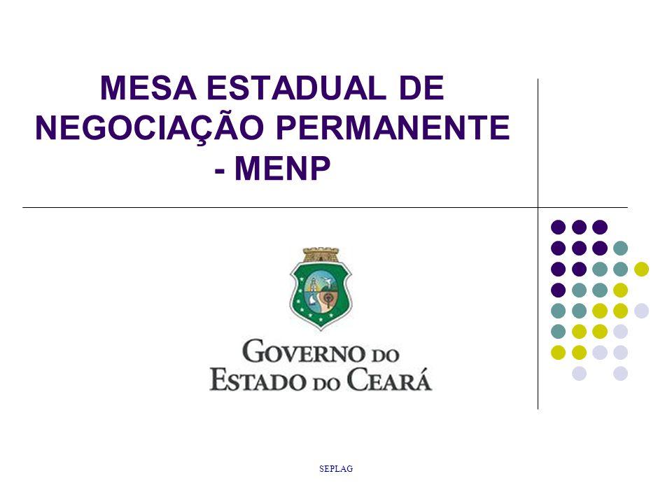 MESA ESTADUAL DE NEGOCIAÇÃO PERMANENTE - MENP