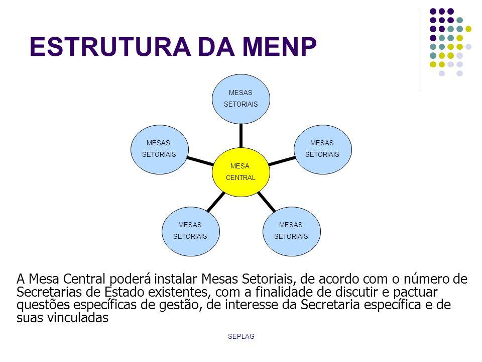 ESTRUTURA DA MENP