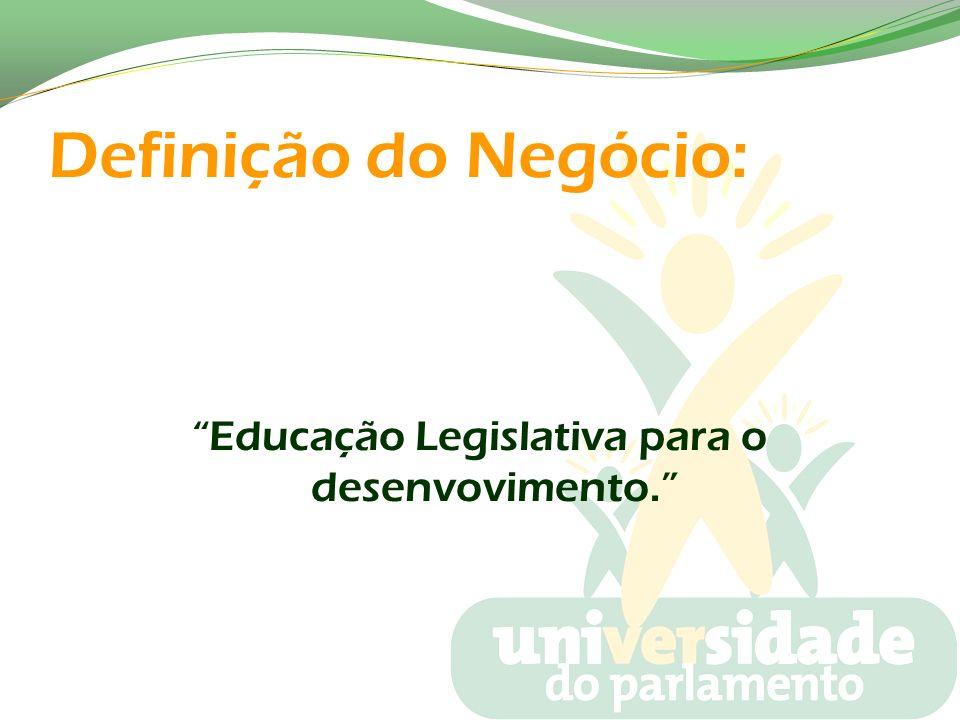 Educação Legislativa para o desenvovimento.