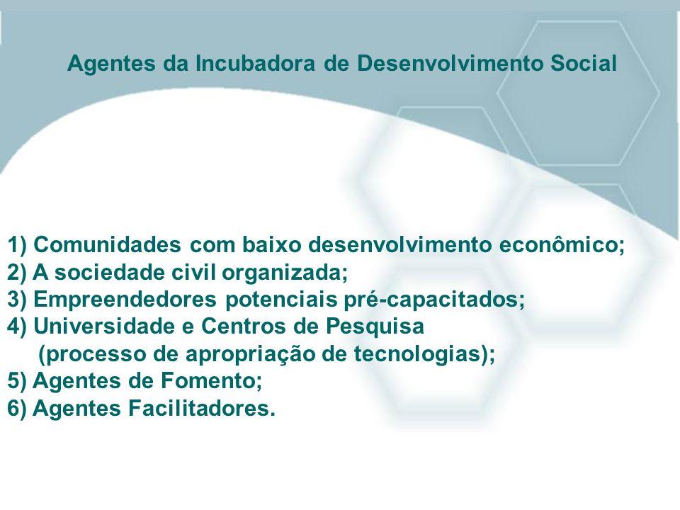 Agentes da Incubadora de Desenvolvimento Social