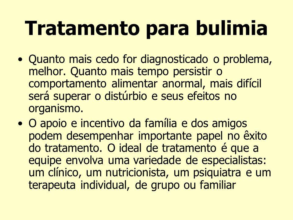 Tratamento para bulimia