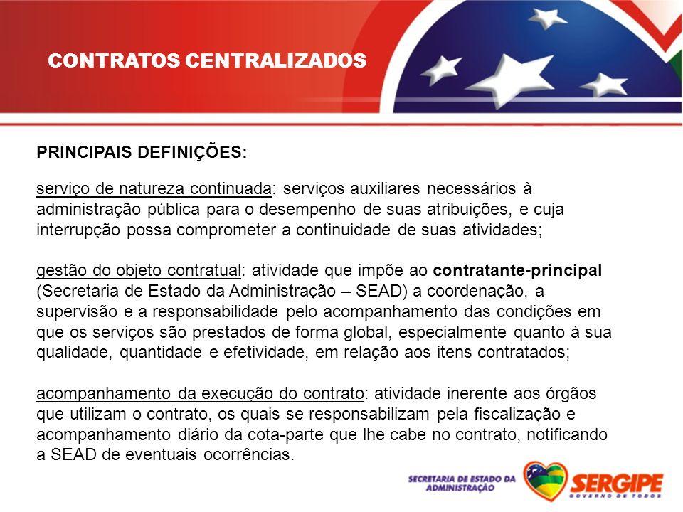 CONTRATOS CENTRALIZADOS