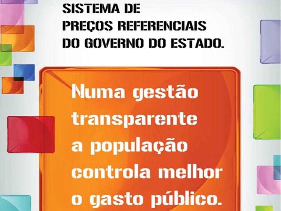 SISTEMA DE PREÇOS REFERENCIAIS DO GOVERNO DO ESTADO DO ESPÍRITO SANTO