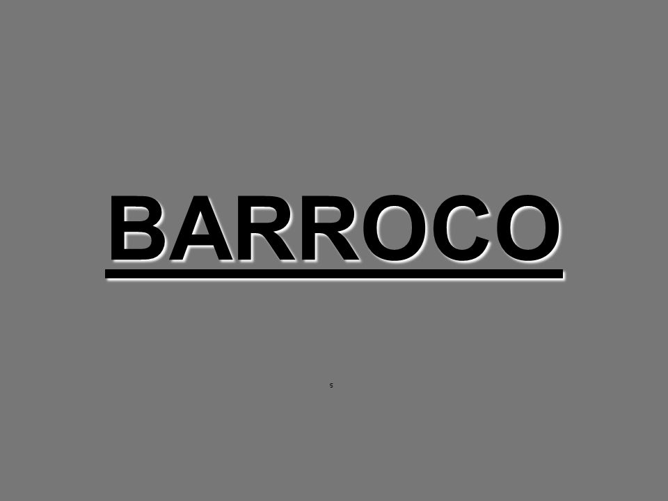 BARROCO s