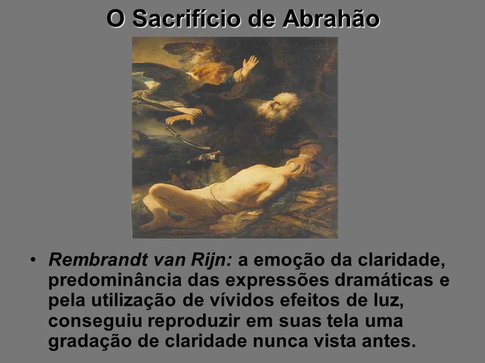 O Sacrifício de Abrahão