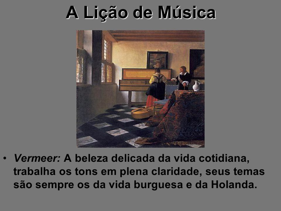 A Lição de Música