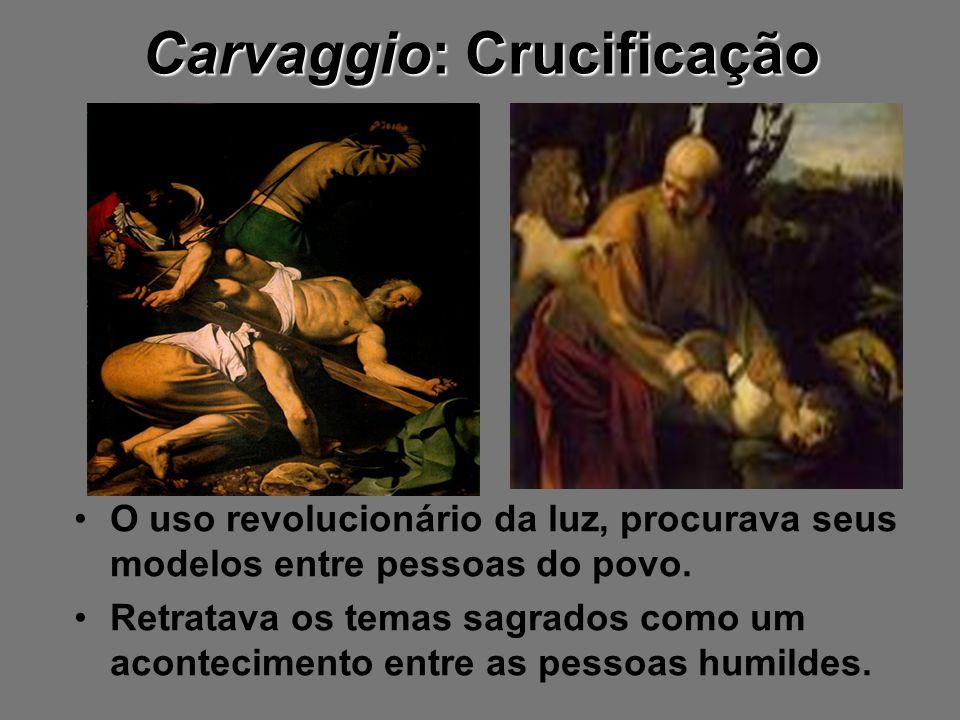 Carvaggio: Crucificação