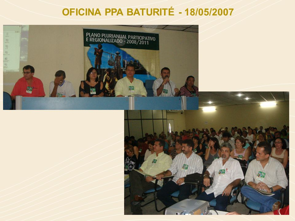 OFICINA PPA BATURITÉ - 18/05/2007