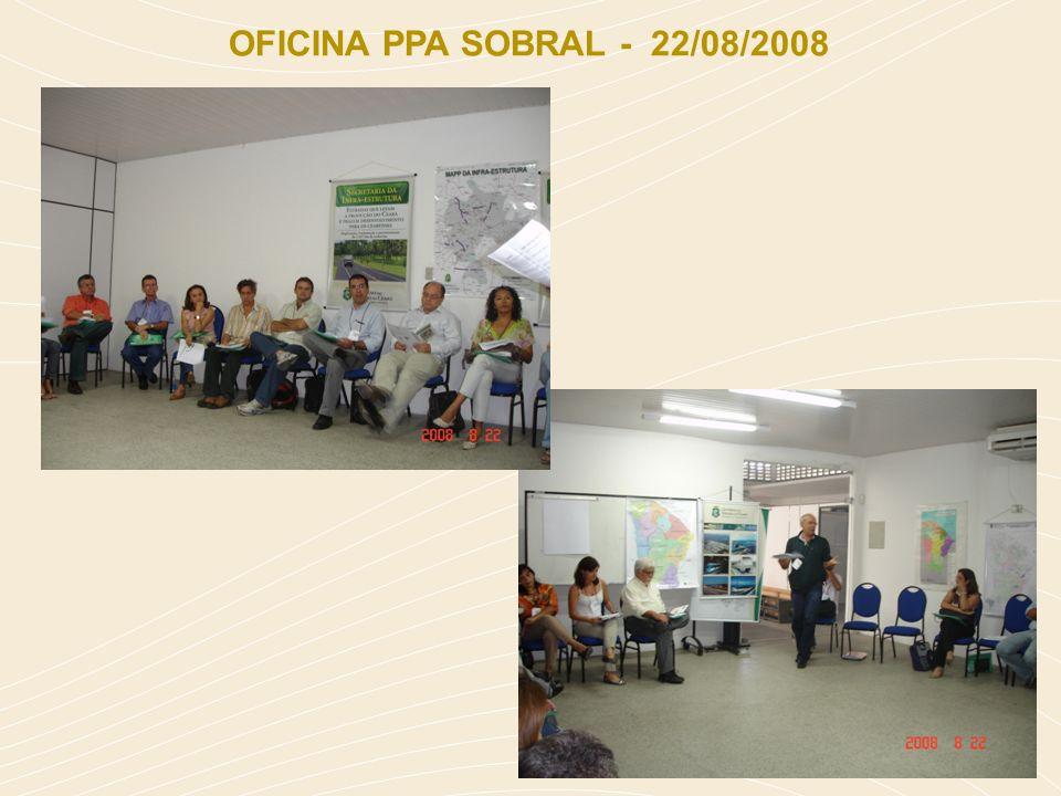 OFICINA PPA SOBRAL - 22/08/2008