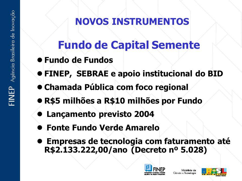 Fundo de Capital Semente