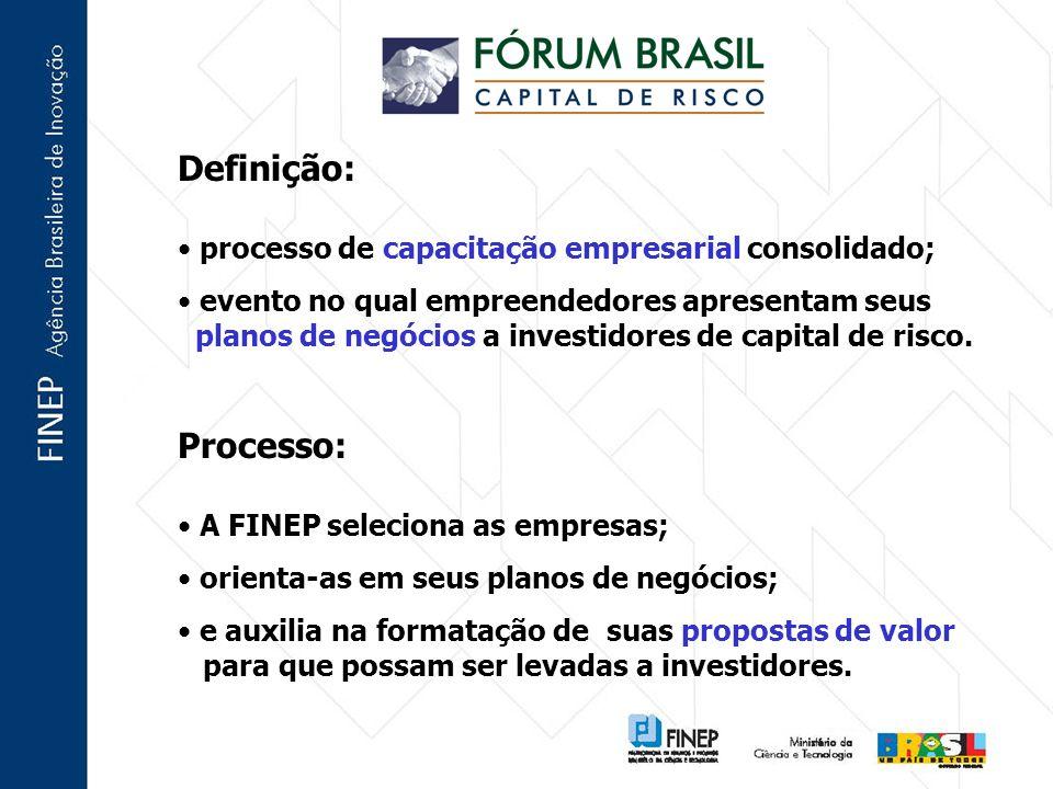 Definição: Processo: processo de capacitação empresarial consolidado;