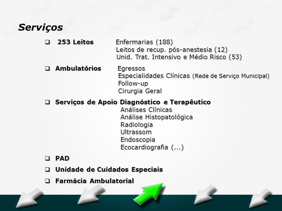 Serviços 253 Leitos Enfermarias (188)