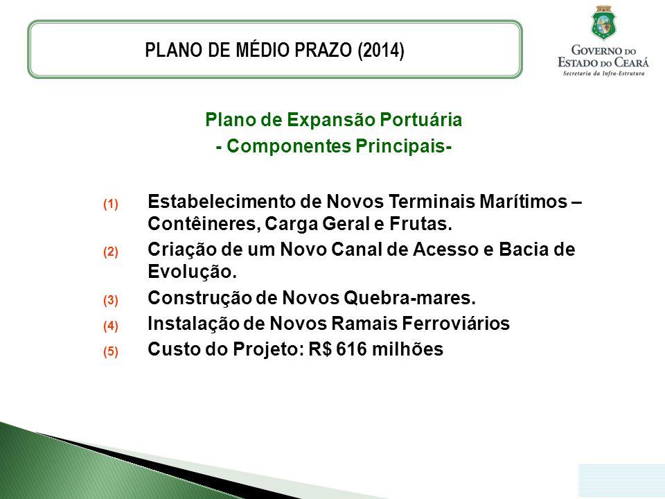 Plano de Expansão Portuária - Componentes Principais-