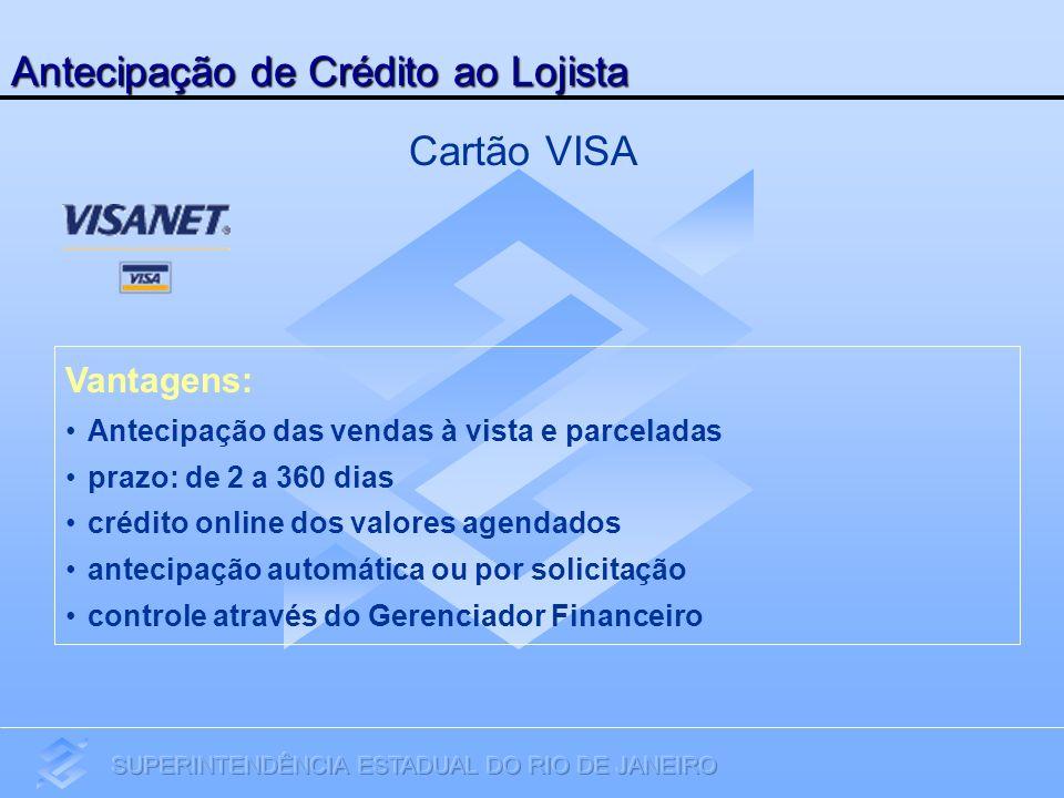 Antecipação de Crédito ao Lojista