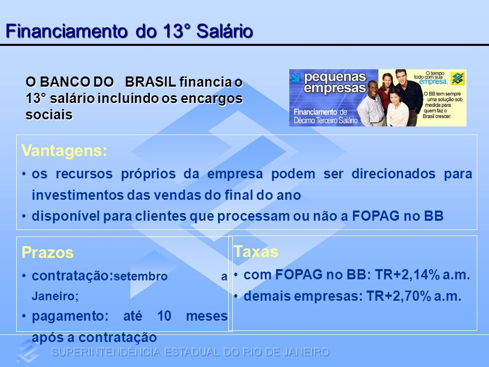 Financiamento do 13° Salário