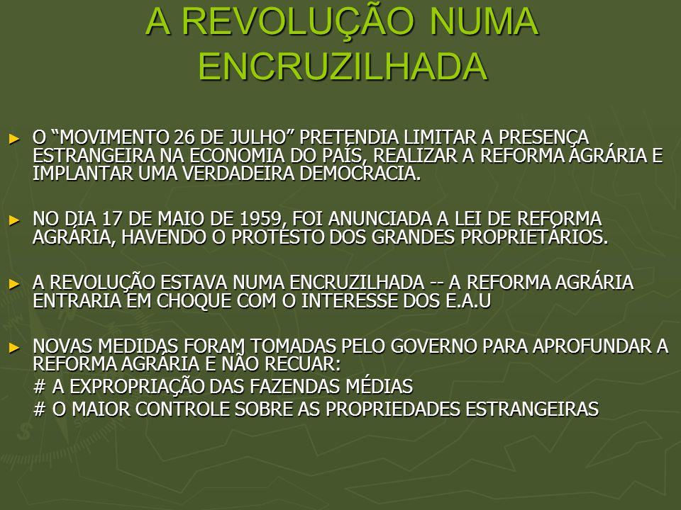 A REVOLUÇÃO NUMA ENCRUZILHADA