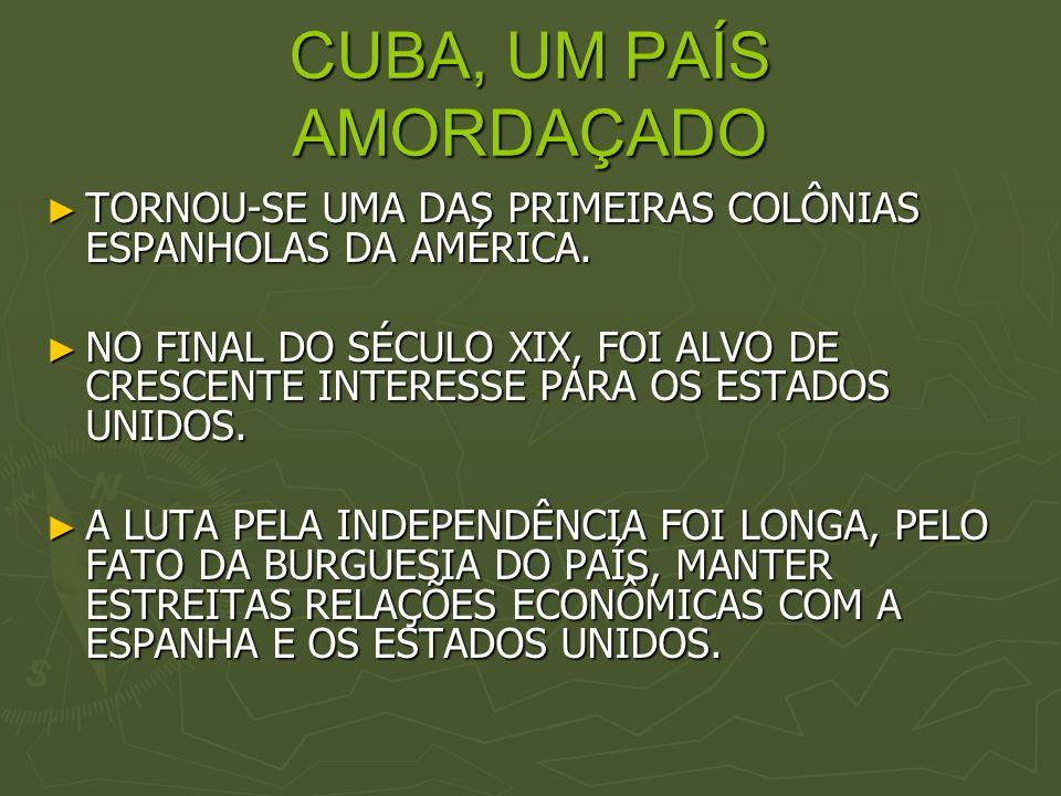 CUBA, UM PAÍS AMORDAÇADO