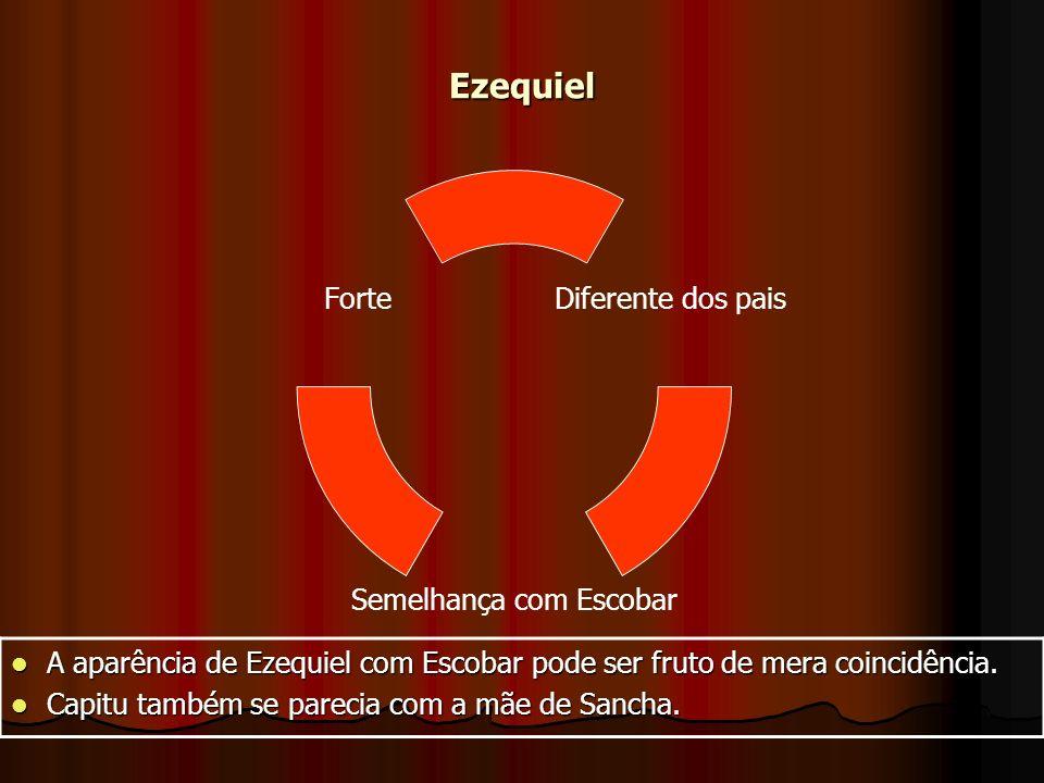 Ezequiel A aparência de Ezequiel com Escobar pode ser fruto de mera coincidência.